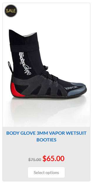 Body-Glove-Vapor-Toe-Lace-Bootie-Black_Wetsuits_Auckland_New_Zealand_Link