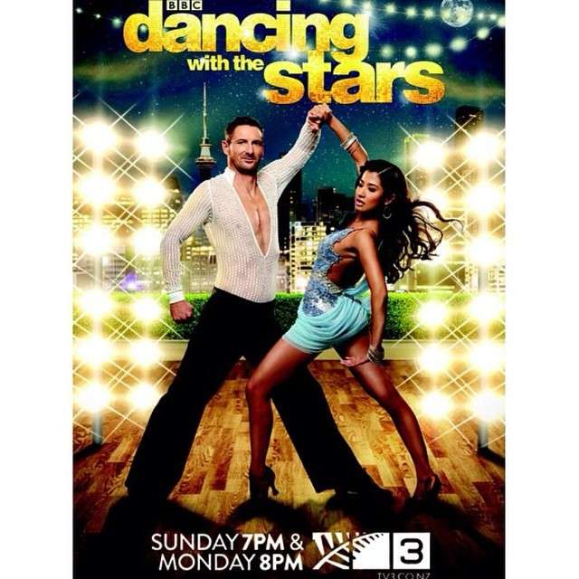 Maz Quinn on Dancing With the Stars