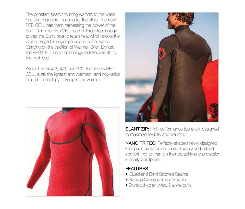 Body Glove Vapor X Red Cell Wetsuit New Zealand